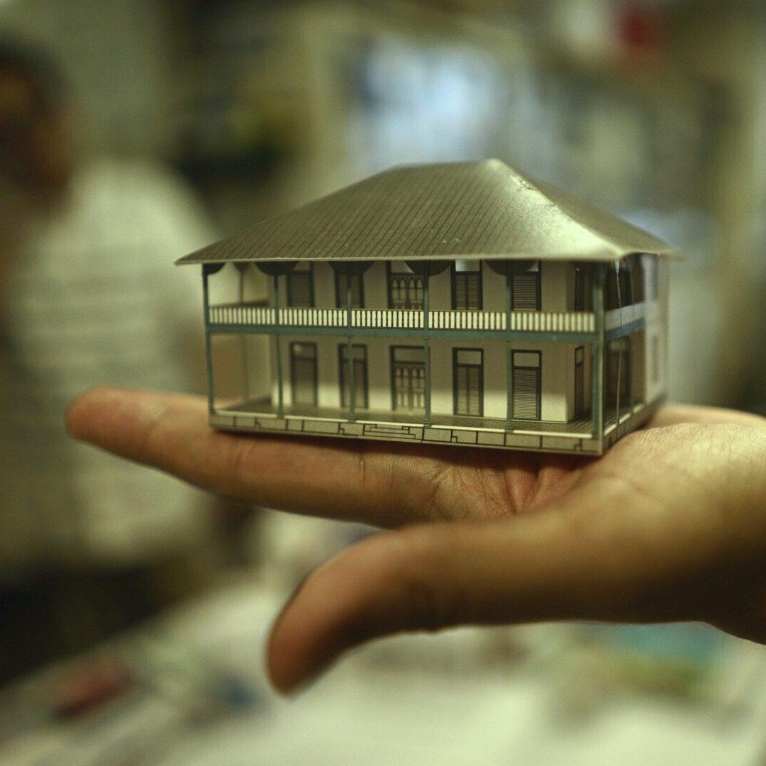 手のひらサイズのジェーンズ邸